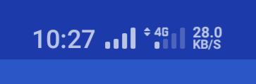 楽天モバイル電波1本